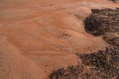 Άμμος και βράχοι Στοκ Εικόνες