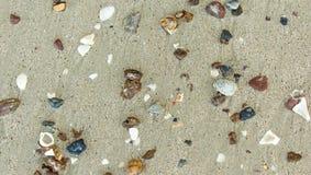 Άμμος και μικρές πέτρες Στοκ Φωτογραφία