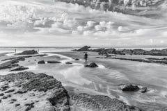 Άμμος και ουρανός Στοκ Εικόνες