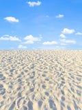 Άμμος και ουρανός Στοκ φωτογραφίες με δικαίωμα ελεύθερης χρήσης