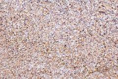 Άμμος και χαλίκι θάλασσας στοκ εικόνα