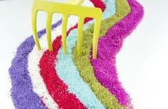 Άμμος και χρώματα Στοκ Εικόνα