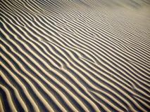 άμμος κυματώσεων Στοκ εικόνες με δικαίωμα ελεύθερης χρήσης
