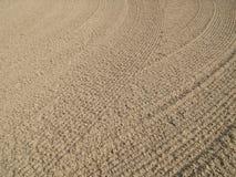 άμμος κυματώσεων Στοκ φωτογραφία με δικαίωμα ελεύθερης χρήσης