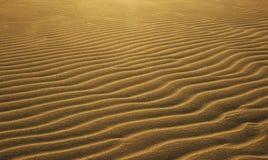 άμμος κυματώσεων Στοκ Φωτογραφίες