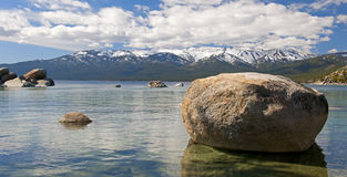 άμμος λιμενικών λιμνών tahoe Στοκ Εικόνα