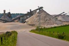 άμμος μεταλλείας Στοκ εικόνα με δικαίωμα ελεύθερης χρήσης