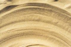 Άμμος με το copyspace ως υπόβαθρο για οποιοδήποτε πρόγραμμα Στοκ Φωτογραφίες