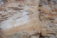 Άμμος, πέτρα, σύσταση, υπόβαθρο, φυσικό, βράχος, κατασκευασμένος, σχέδιο, φύση, επιφάνεια, ψαμμίτης, σχέδιο, σκληρός, μακρο, παλα Στοκ Φωτογραφία