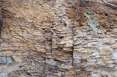 Άμμος, πέτρα, σύσταση, υπόβαθρο, φυσικό, βράχος, κατασκευασμένος, σχέδιο, φύση, επιφάνεια, ψαμμίτης, σχέδιο, σκληρός, μακρο, παλα Στοκ εικόνα με δικαίωμα ελεύθερης χρήσης