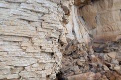 Άμμος, πέτρα, σύσταση, υπόβαθρο, φυσικό, βράχος, κατασκευασμένος, σχέδιο, φύση, επιφάνεια, ψαμμίτης, σχέδιο, σκληρός, μακρο, παλα Στοκ Εικόνα