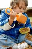 άμμος παιδικών χαρών διασκέ& Στοκ φωτογραφία με δικαίωμα ελεύθερης χρήσης