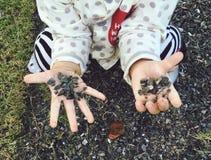 Άμμος παιχνιδιού παιδιών στοκ εικόνες