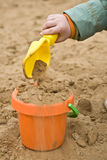 άμμος παιχνιδιού στοκ φωτογραφία με δικαίωμα ελεύθερης χρήσης