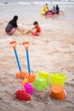Άμμος παιχνιδιών Στοκ φωτογραφία με δικαίωμα ελεύθερης χρήσης