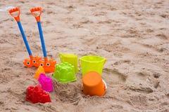 Άμμος παιχνιδιών Στοκ εικόνες με δικαίωμα ελεύθερης χρήσης