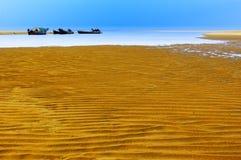 άμμος παραλιών Στοκ εικόνα με δικαίωμα ελεύθερης χρήσης