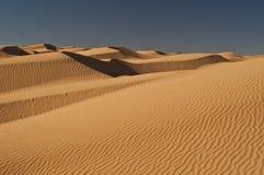 άμμος Σαχάρας αμμόλοφων ε&rh Στοκ Εικόνες