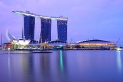 άμμος Σινγκαπούρη μαρινών κό Στοκ φωτογραφίες με δικαίωμα ελεύθερης χρήσης