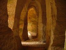 άμμος σπηλιών Στοκ Φωτογραφίες