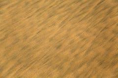 Άμμος στην παραλία σε Anjuna, Ινδία Στοκ εικόνα με δικαίωμα ελεύθερης χρήσης