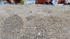 Άμμος στη θάλασσα Στοκ Εικόνες