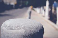 Άμμος στον πόλο Στοκ Εικόνες
