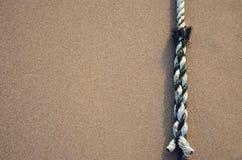 άμμος σχοινιών Στοκ φωτογραφία με δικαίωμα ελεύθερης χρήσης