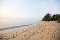 Άμμος της νότιας θάλασσας στην Ταϊλάνδη Στοκ εικόνες με δικαίωμα ελεύθερης χρήσης