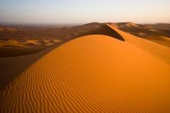 άμμος τοπίων αμμόλοφων Στοκ Φωτογραφία