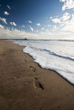 άμμος τυπωμένων υλών αποβα& Στοκ Εικόνες