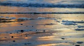 άμμος υγρή Στοκ εικόνα με δικαίωμα ελεύθερης χρήσης