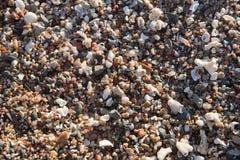 άμμος χαλικιών ανασκόπηση&sig Στοκ εικόνα με δικαίωμα ελεύθερης χρήσης