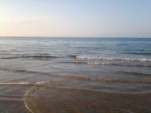 Άμμος Oceanview πρωινού ανατολής στοκ φωτογραφία