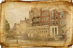 Άμστερνταμ αναδρομικό Στοκ Φωτογραφία