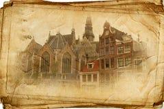 Άμστερνταμ αναδρομικό Στοκ Φωτογραφίες