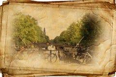 Άμστερνταμ αναδρομικό Στοκ εικόνες με δικαίωμα ελεύθερης χρήσης
