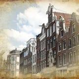 Άμστερνταμ αναδρομικό Στοκ Εικόνες