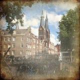 Άμστερνταμ αναδρομικό Στοκ εικόνα με δικαίωμα ελεύθερης χρήσης