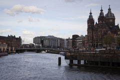 Άμστερνταμ, Κάτω Χώρες - 13 Μαΐου 2015 Στοκ εικόνα με δικαίωμα ελεύθερης χρήσης