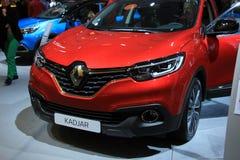 Άμστερνταμ, οι Κάτω Χώρες - 23 Απριλίου 2015: Renault Kadjar Intr Στοκ εικόνα με δικαίωμα ελεύθερης χρήσης