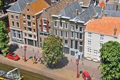Άμστερνταμ στη μικρογραφία Στοκ Φωτογραφία