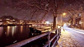 Άμστερνταμ τή νύχτα στις Κάτω Χώρες φιλμ μικρού μήκους