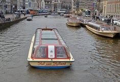 Άμστερνταμ canalboat στοκ φωτογραφία με δικαίωμα ελεύθερης χρήσης