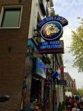 Άμστερνταμ coffeeshop Στοκ φωτογραφία με δικαίωμα ελεύθερης χρήσης