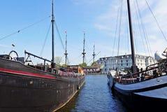 Άμστερνταμ Scheepvaartmuseum Στοκ φωτογραφία με δικαίωμα ελεύθερης χρήσης