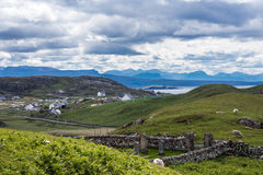Άμλετ Lochinver, Σκωτία στοκ φωτογραφία