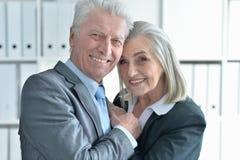 Άνδρας και γυναίκα Seniour Στοκ Φωτογραφίες