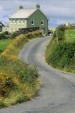 Άνεμος εθνική οδός στο δυτικό Κορκ, Ιρλανδία Στοκ φωτογραφία με δικαίωμα ελεύθερης χρήσης