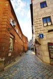 Άνεμος οδός obblestone Ð ¡ Στοκ εικόνες με δικαίωμα ελεύθερης χρήσης